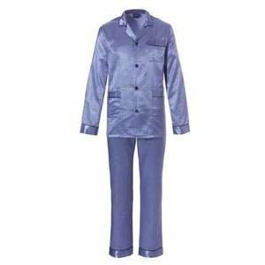 Robson Robson Classics Heren pyjama satijn knoopsluiting 714-6