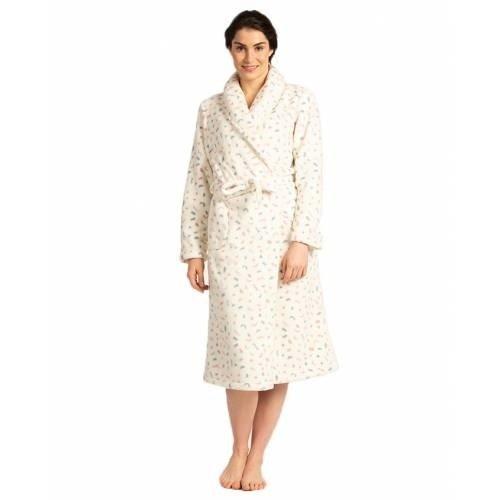 Eskimo Eskimo Fleece dames badjas Mirre 36075