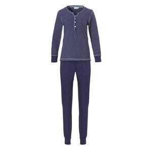 Pastunette Pastunette tricot dames pyjama Future Blue