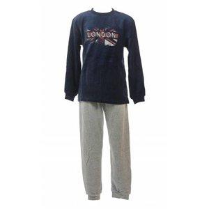 Outfitter Outfitter velours jongens pyjama London