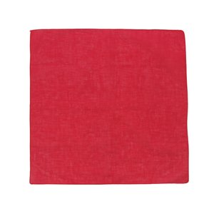 Boerenzakdoek Uni Rood 54x54 cm