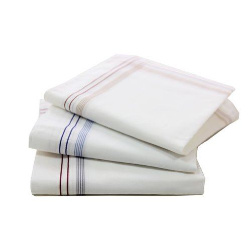 Tiseco Tiseco heren zakdoeken Pastel 12 stuks