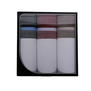 Swan Swan Luxe Heren zakdoeken Stripe 3 stuks