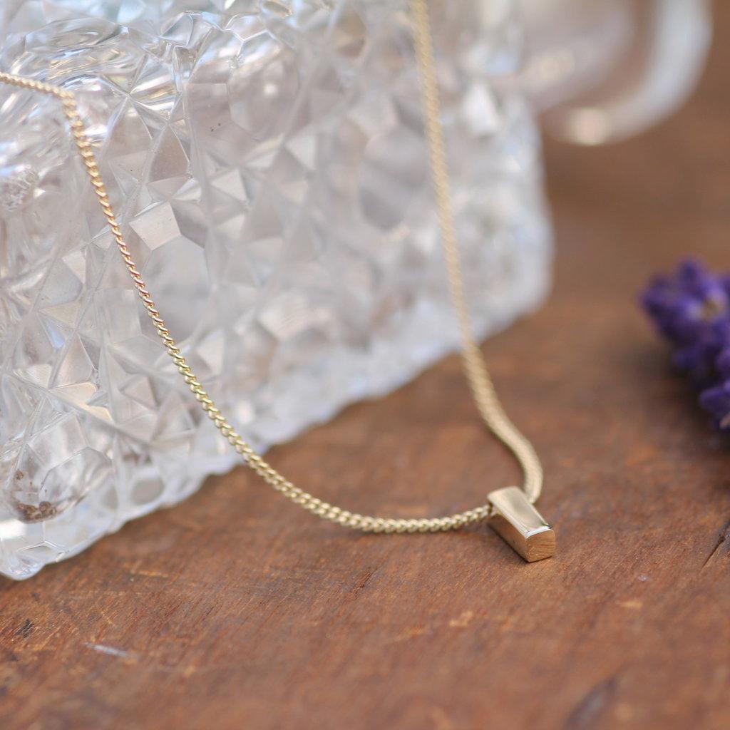 Joulberry Nova Gold Bolt Necklace