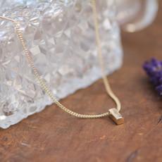 KENSINGTON Gold Petite Bolt Necklace