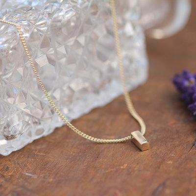 Nova Gold Bolt Necklace