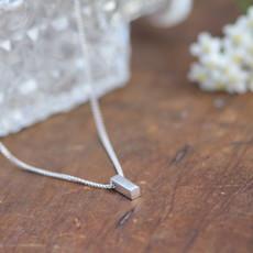 KENSINGTON Silver Bolt Necklace