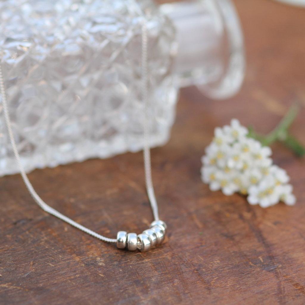 MONROE Silver Candy Necklace