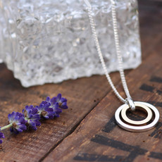 Joulberry Silver and Gold In2you Necklace