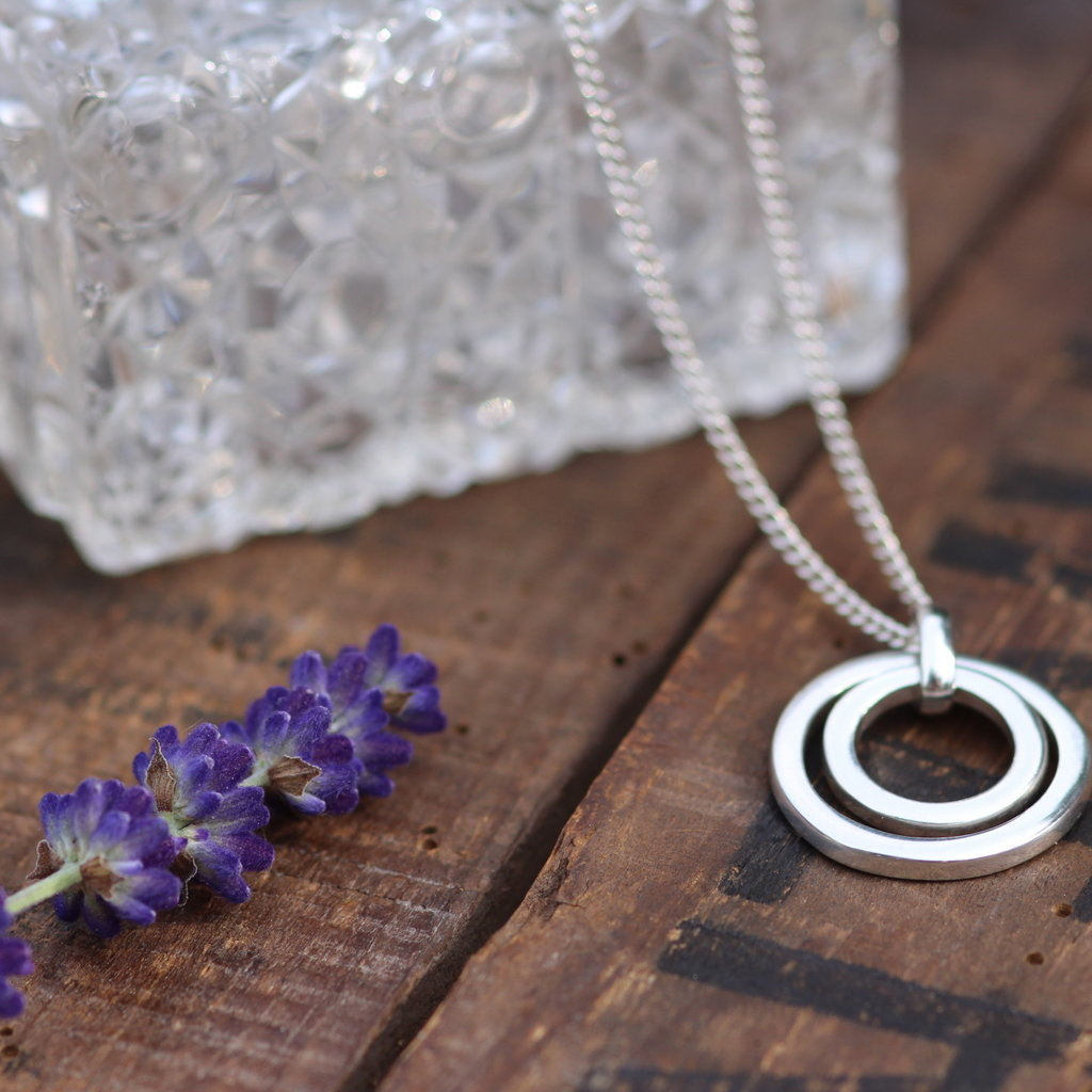 Joulberry Silver In2you Necklace