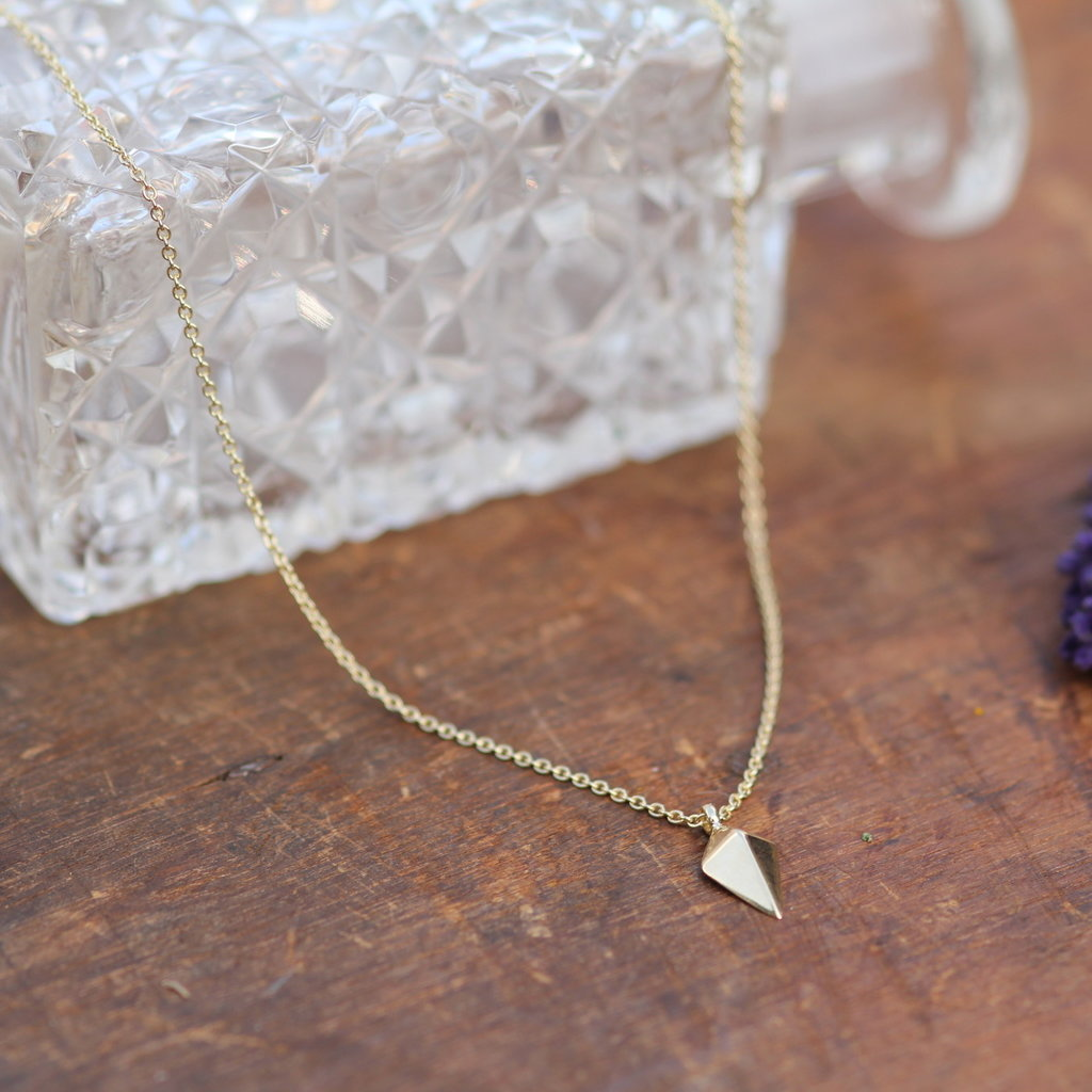 Joulberry Geo Gold Kite Necklace