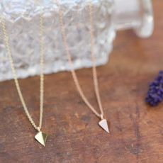 Geo Gold Kite Necklace
