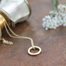 Joulberry Gold Polo Necklace