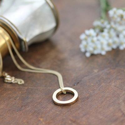 KENSINGTON Gold Polo Necklace