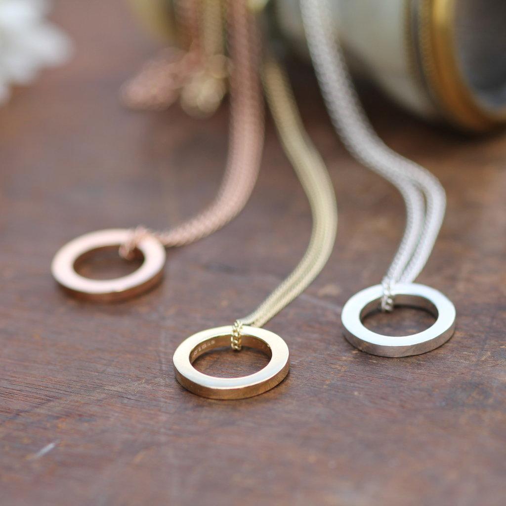 Gold Polo Necklace