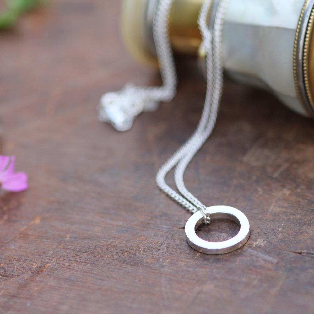 Silver Polo Necklace