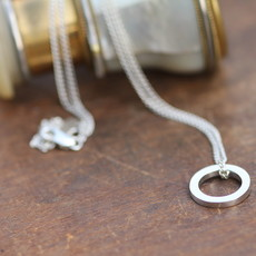 KENSINGTON Silver Polo Necklace