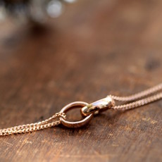 Joulberry Rose Gold Eternity Necklace