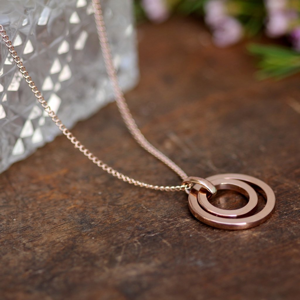 Joulberry Rose Gold In2You Necklace
