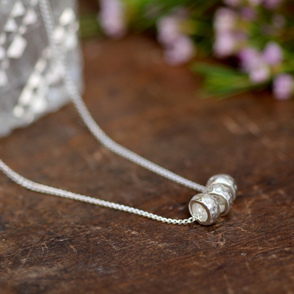 Joulberry Silver Luna Necklace