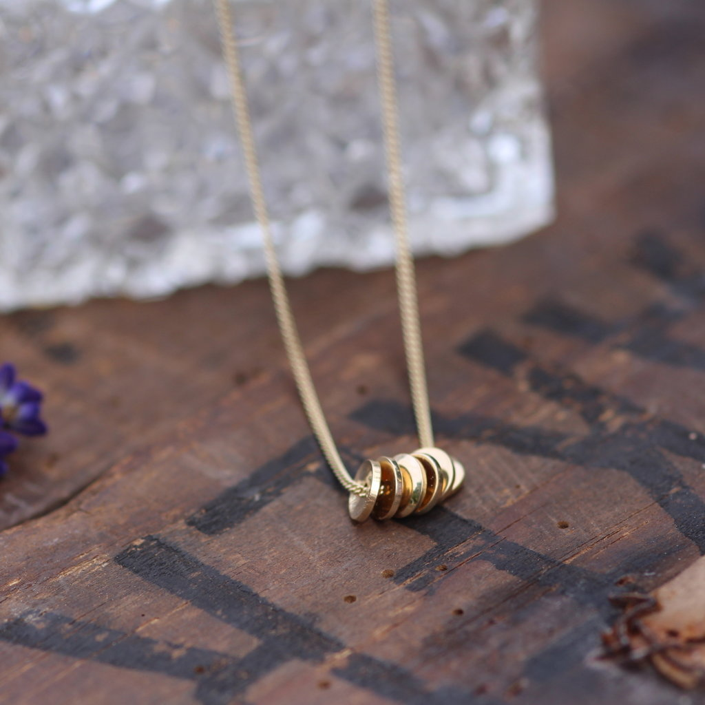 MONROE Gold Sienna Necklace
