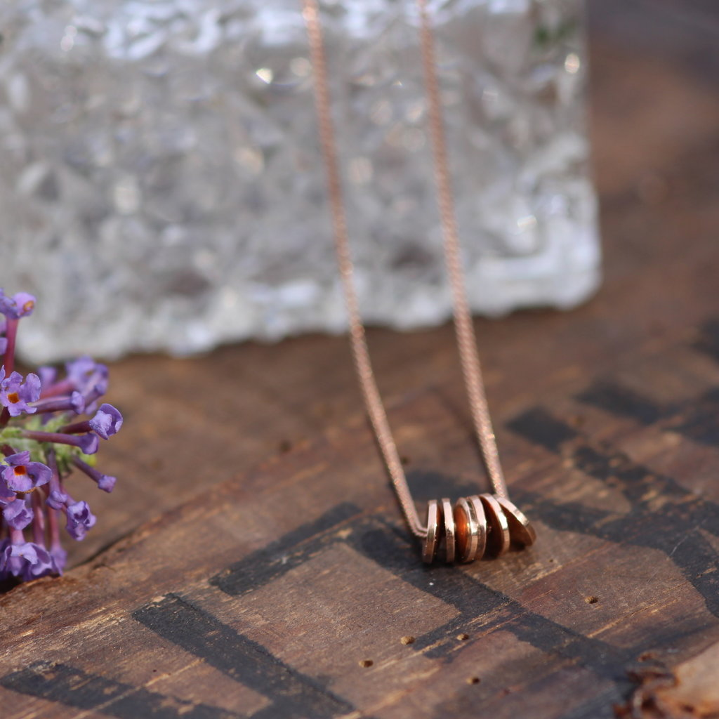 Joulberry Rose Gold Sienna Necklace