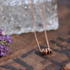 MONROE Rose Gold Sienna Necklace