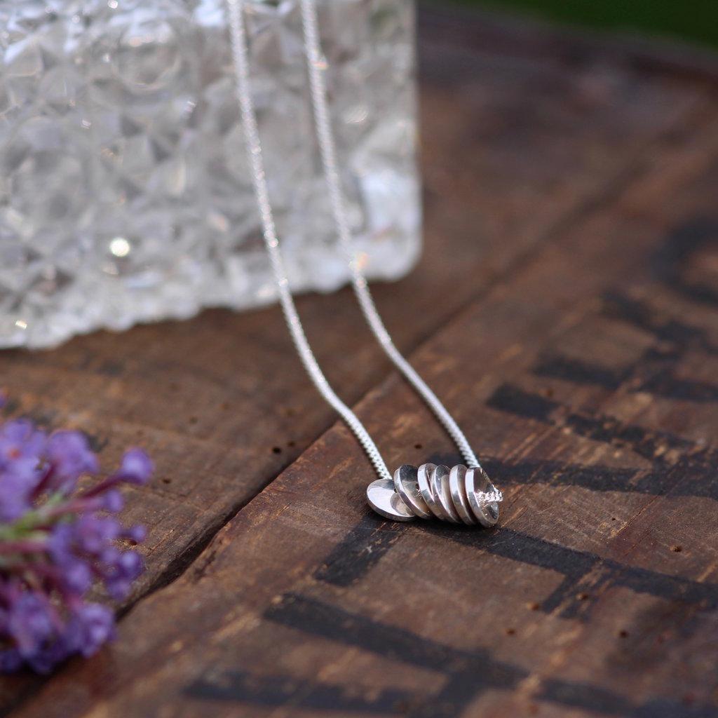 Silver Sienna Necklace