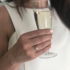 Gold Rosa Boho Ring