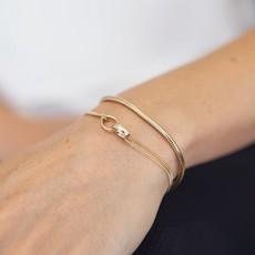 Gold Eternity Bracelet