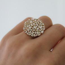 LUNA Gold Eclipse Ring