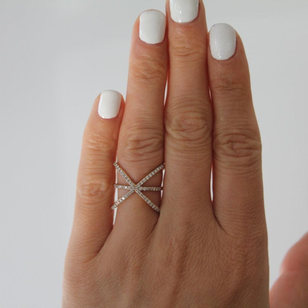 MONROE Gold Diamond Megan Star Ring