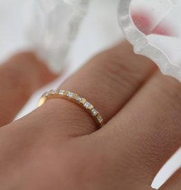 Joulberry Gold Diez Diamond Eternity Ring