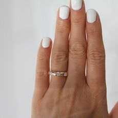 TATE Jessica Rose Gold Diamond Ring
