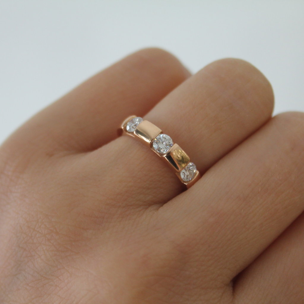 Joulberry Rose Jessica Diamond Ring