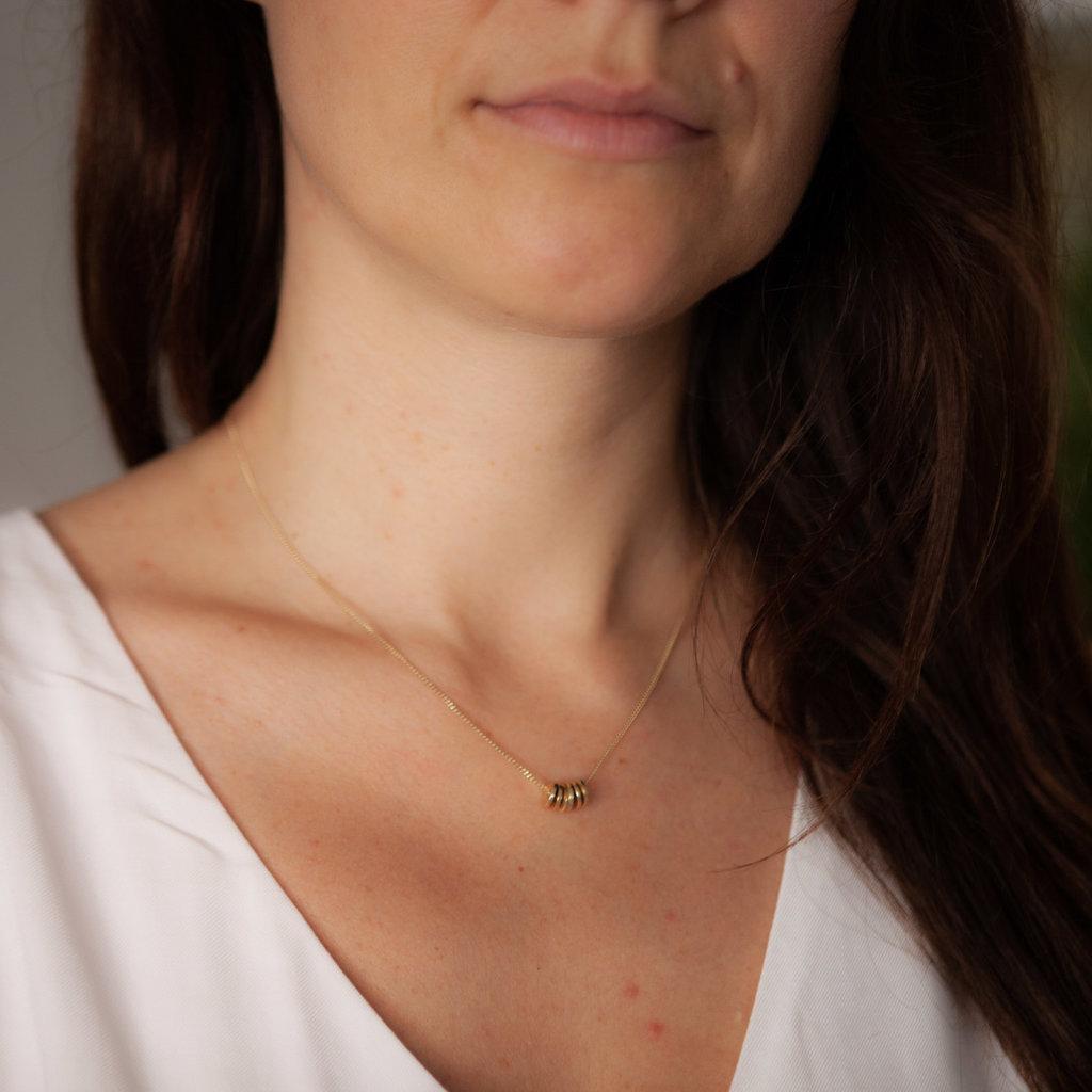 Gold Sienna Necklace