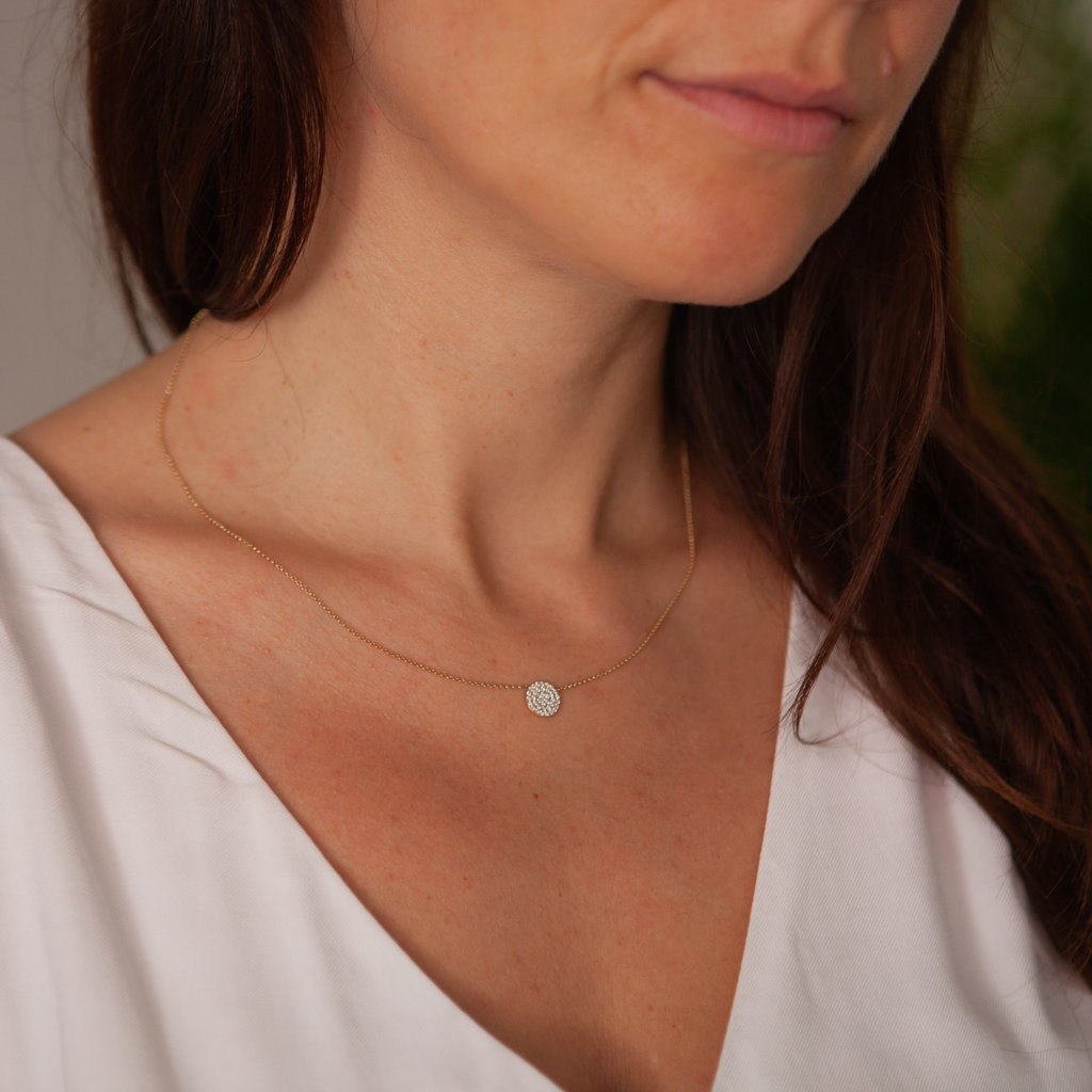 LUNA Diamond Constellation Necklace