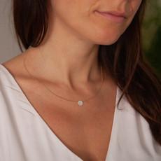LUNA Gold Diamond Constellation Necklace
