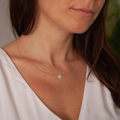 LUNAR Diamond Constellation Necklace