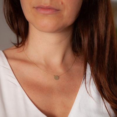 Gold Bethany Necklace