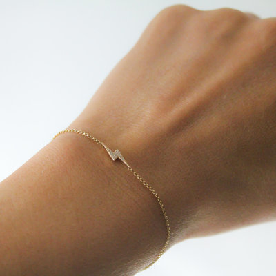 Joulberry Gold Diamond Hera Bracelet