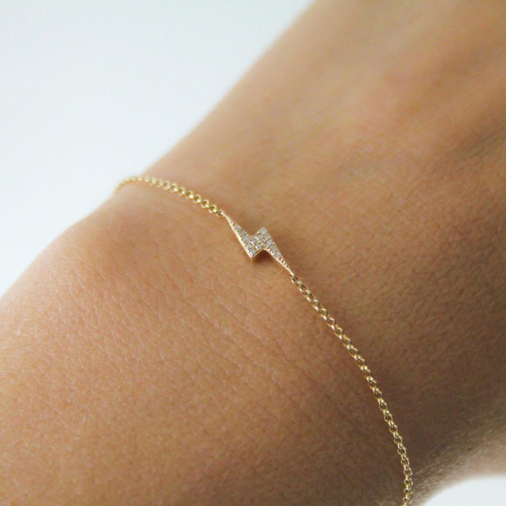 DAISY Gold Diamond Hera Bracelet
