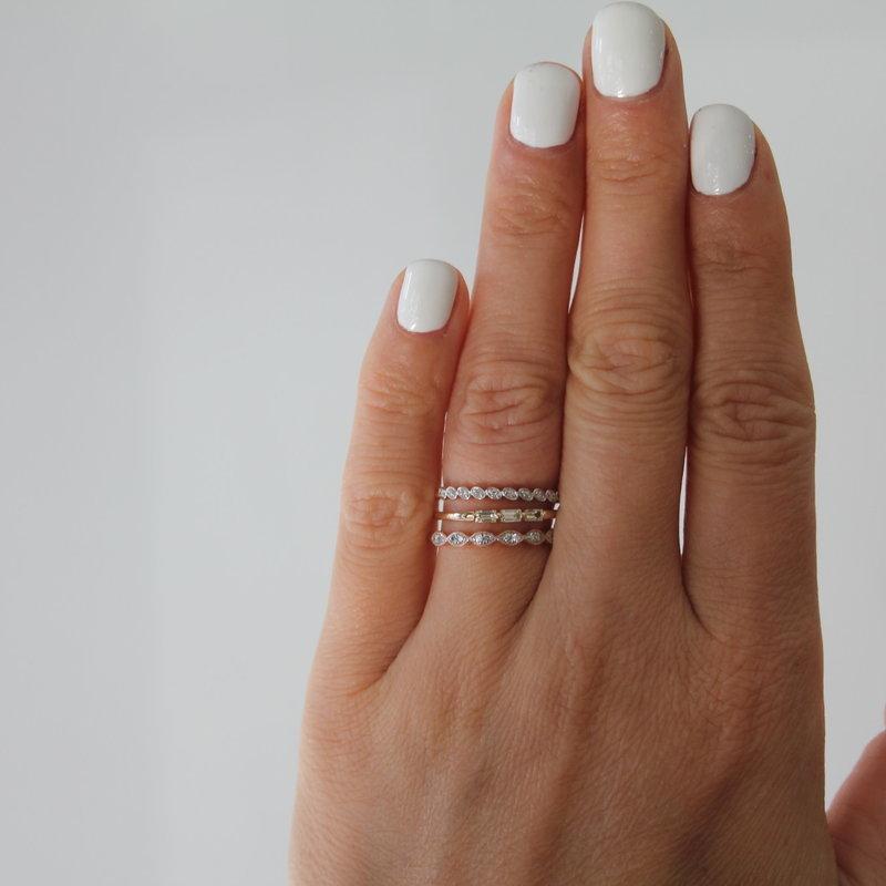 BLOSSOM Emily Rose Gold Diamond Ring