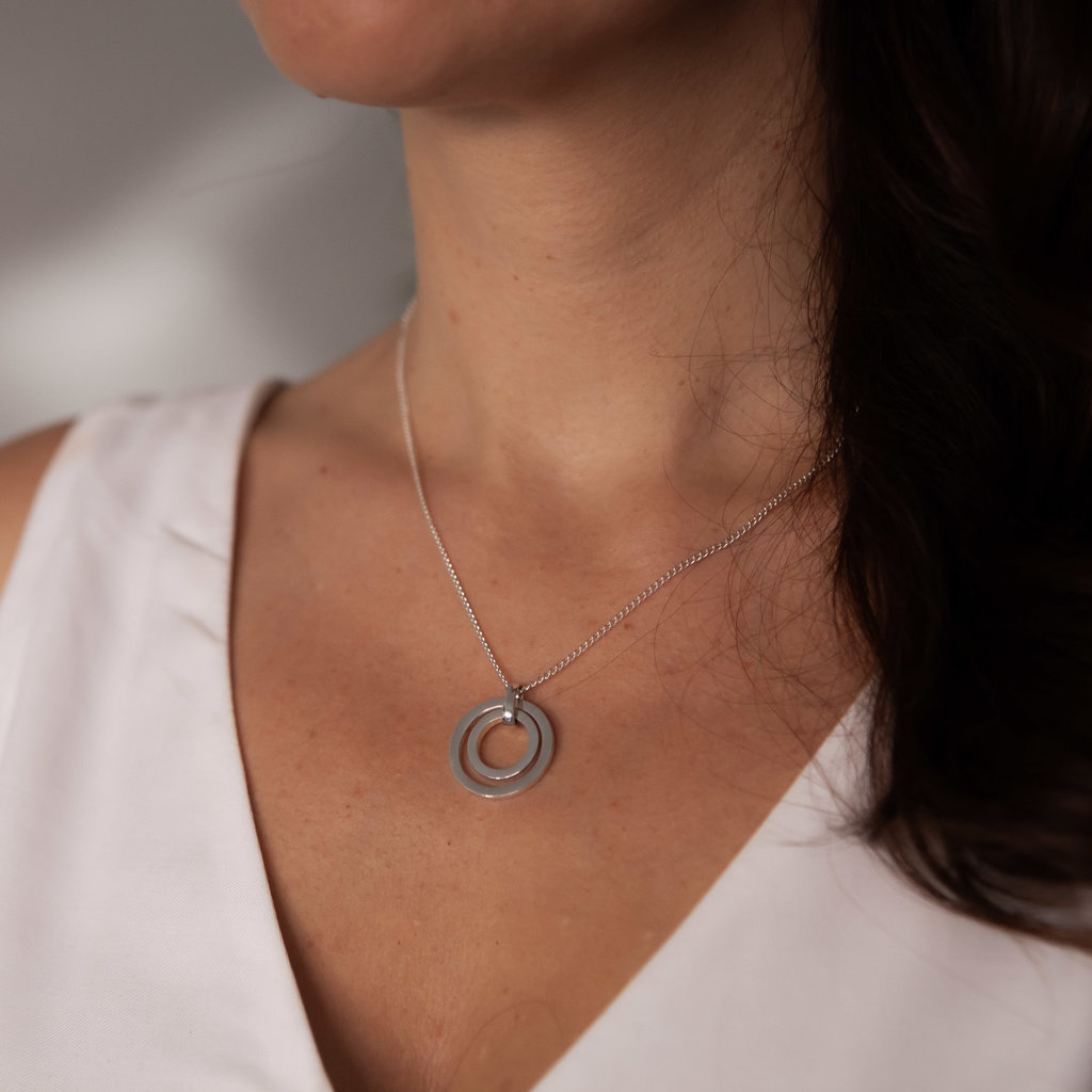 White Gold In2you Necklace