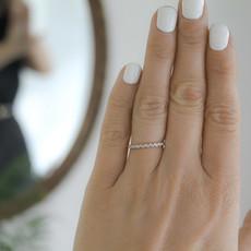 Joulberry Emily Rose Gold Diamond Ring