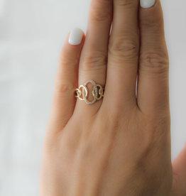 Joulberry Gold Helena Diamond Ring