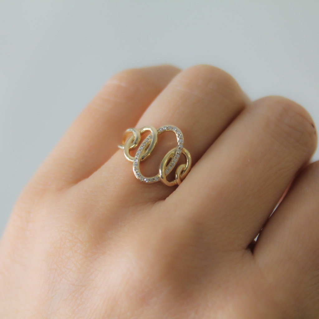 Joulberry Gold Helena Diamond Ring