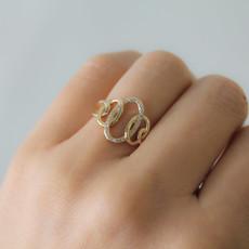 Gold Helena Diamond Ring