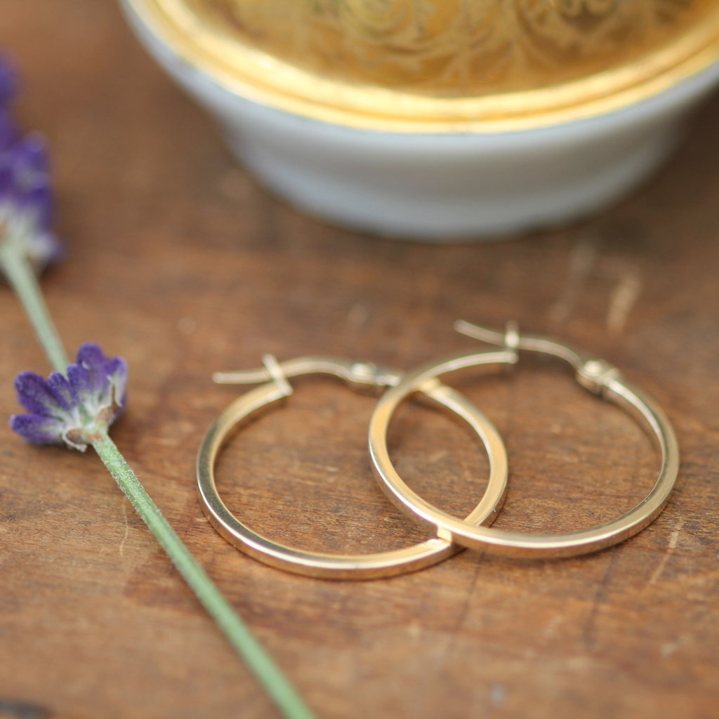 Joulberry Gold Polo Earrings