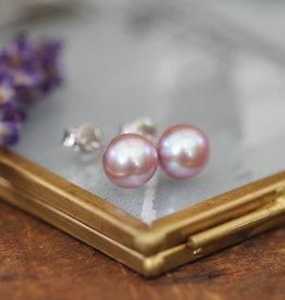 Joulberry Blush Ocean Pearl Stud Earrings